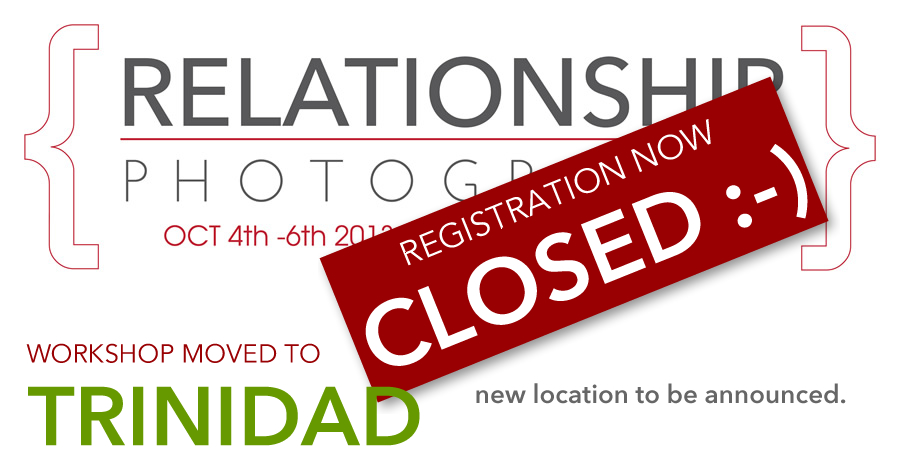 Elevate Workshops - Relationship Photography WORKSHOP (REGISTRATION NOW CLOSED)