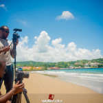 (Most of) The Relate Team in Tobago Shooting Scarborough