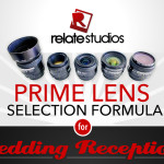 Infographic: Prime Lens Selection Formula for Wedding Receptions