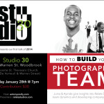 Relate Studios @ Studio 30 – How to build your Photography Team