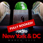 **UPDATE**Relate in New York & Washington D.C. 2015 (FULLY BOOKED)