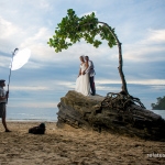 Recently Married Couple Portrait Session 2014  Part 1 (Behind the Scenes)